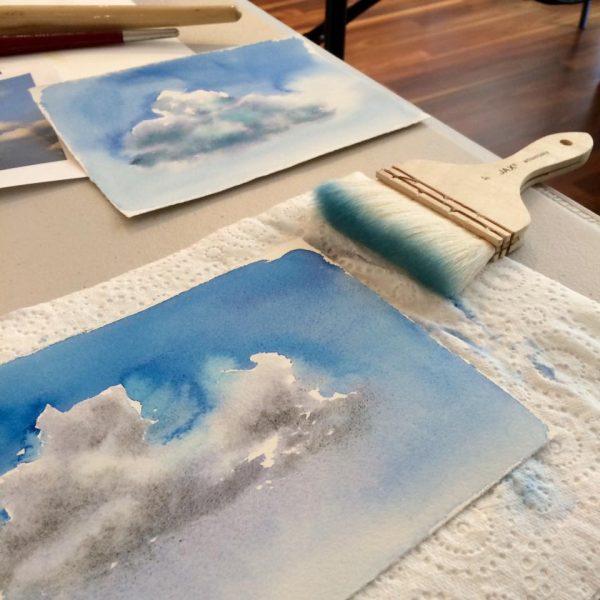 Artist Suzie Porter_clouds