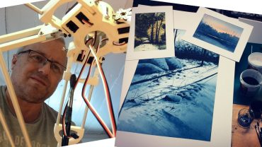 What has Cyanotype Printing, Watercolour Pipe Organs and Remote Talking Robotics got in common