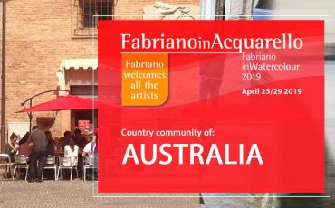 Celebrate With Us – Our Aussie Artists Selected To Represent Australia in FabrianoInAcquarello – Italy 2019