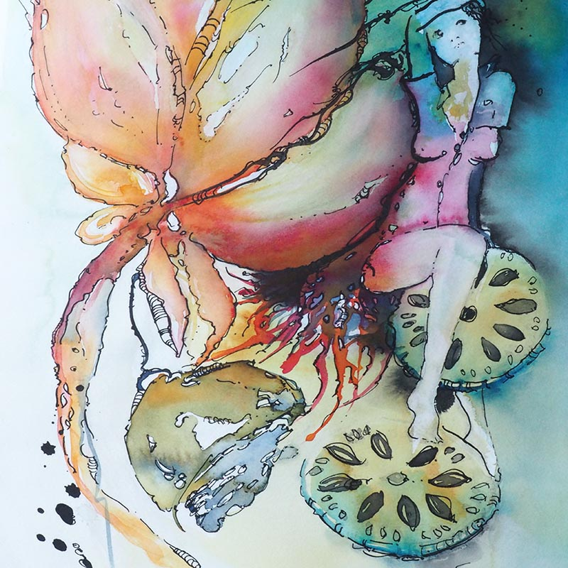 Eckersley's Gold Coast – 6th July '21 – 10am to 2pm – Watercolour inspired from your Kitchen – Beats Cooking