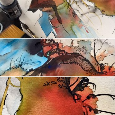 The Chemistry of Watercolour – Workshops a happening thing on Kangaroo Point 2 x left