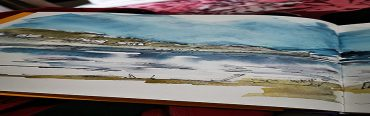 Explore the Colours of the Scottish Lochs – with Aussie Artist – Wyn Vogel …. just back from Scotland