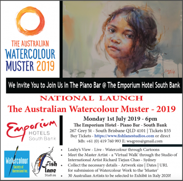 National Launch of the Australian Watercolour Muster – 2019