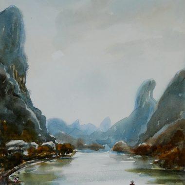 Tony Walker - Original Watercolours