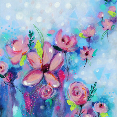 Study 12 – Original Acrylic/Soft Pastel