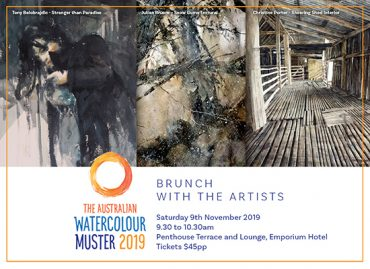 Australian Watercolour Muster – 2019 Brunch With The Artists