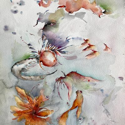 Auction for Bush Fire Relief – Bea Strugo – Watercolour Work