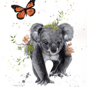 From The Ashes – Koala – Artist Lynette Orzlowski