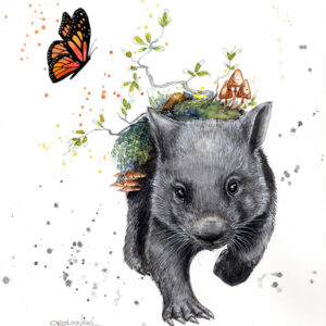 From The Ashes – Wombat – Lynette Orzlowski