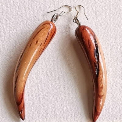 Earrings – Beautifully Grained 'Hairy Oak'