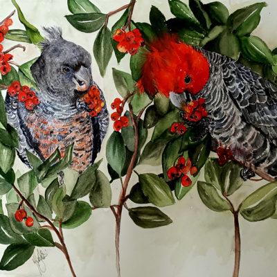 The Berry Feast – Artist Marion Hughes – Queensland