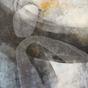 Balance – No 3 – Cold Wax and Oil Artist – Suzie Porter – SOLD