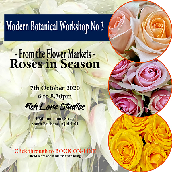 Modern Botanical No: 3 – 7th October 2020 – 6 to 8.30pm