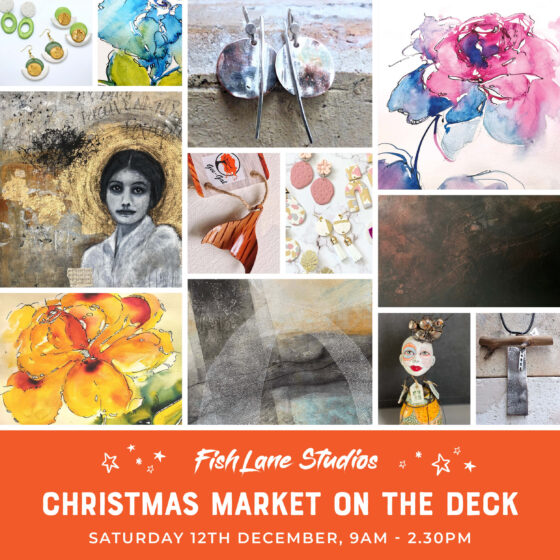Just In Time For Christmas – Original Art and Artisan Market on The Deck – 12th December 2020