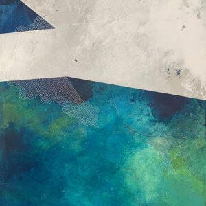 Confines IV – Cold Wax and Oil Artist – Suzie Porter