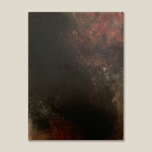 Anodyne of Solitude I – Cold Wax and Oil Artist – Suzie Porter