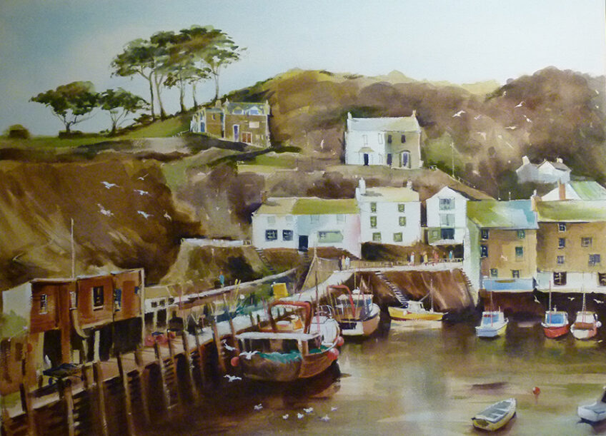 DEMO on the DECK – Des Lambert Oils on Canvas – 9.30am to 12 noon – 5th June 2021