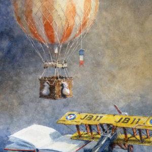 15. Flights of Fancy – Artist Julian Bruere – Watercolour