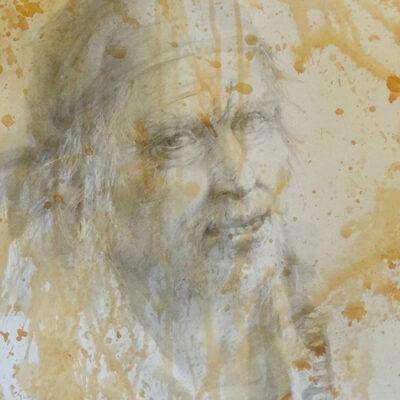 24. Long John Silver – Artist Julian Bruere – Watercolour