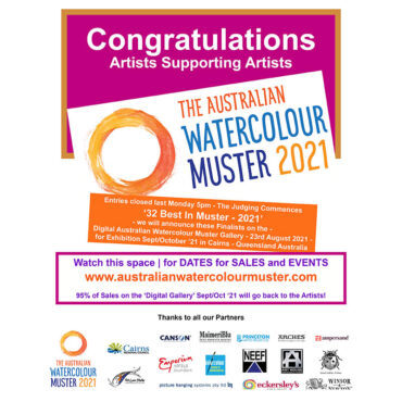 The Australian Watercolour Muster – 2021 Is a happening thing – Exhibition in Cairns 11th September to 23rd October 2021