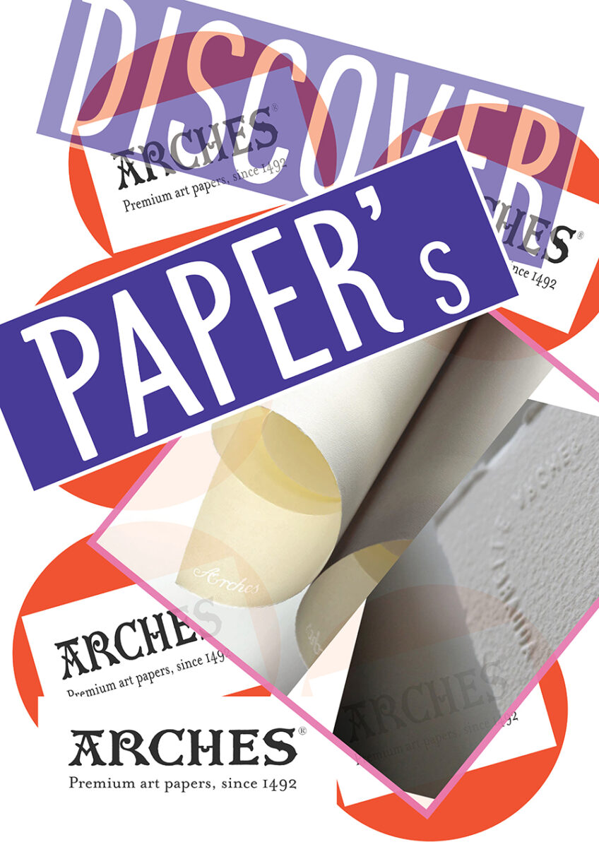 Discover Paper – Workshop on 2 Different types of Paper – Hot and Cold Pressed to experience the difference @ Fish Lane Studios – Thursday Evening 6pm to 8.30pm
